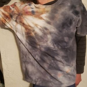 NWOT One of a kind tiedye tshirt unisex XL men's